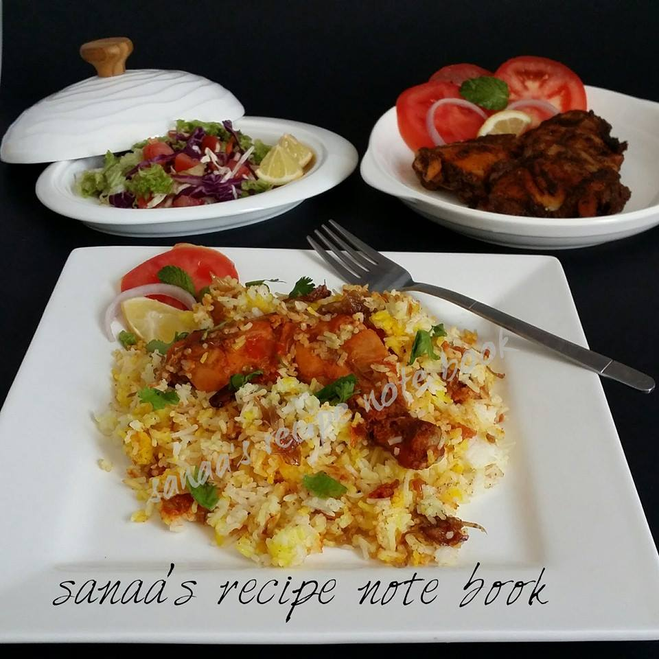 Rice - sanaa's recipe
